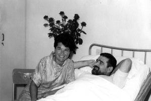 Con la sorella Lina - 1962 Lido di Venezia